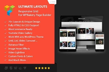 Diseños definitivos - Addon para WPBakery Página Builder