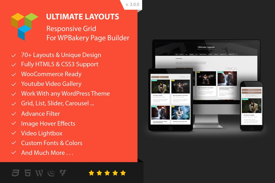 Ultimate Layouts - Addon For WPBakery Page Builder