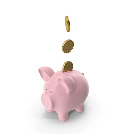 Piggy Bank Pounds