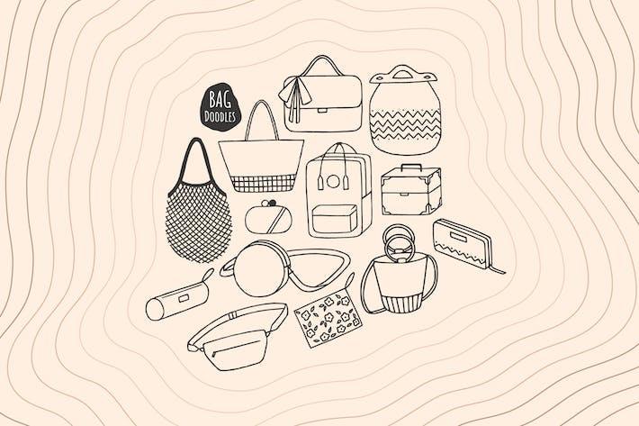 Tasche Doodles