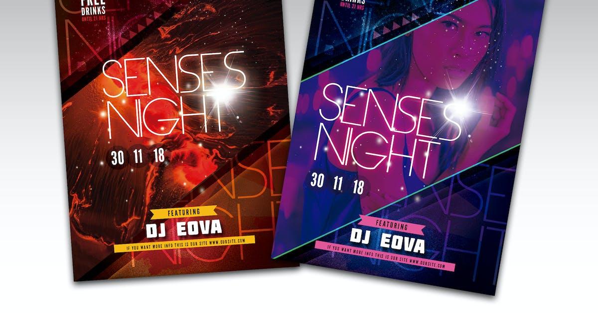 Download Sense Night Flyer Poster by RetroBox
