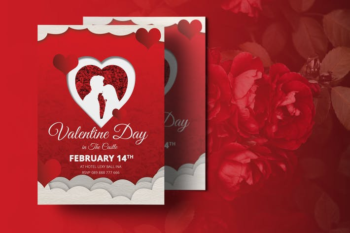 Thumbnail for Valentine Flyer Template
