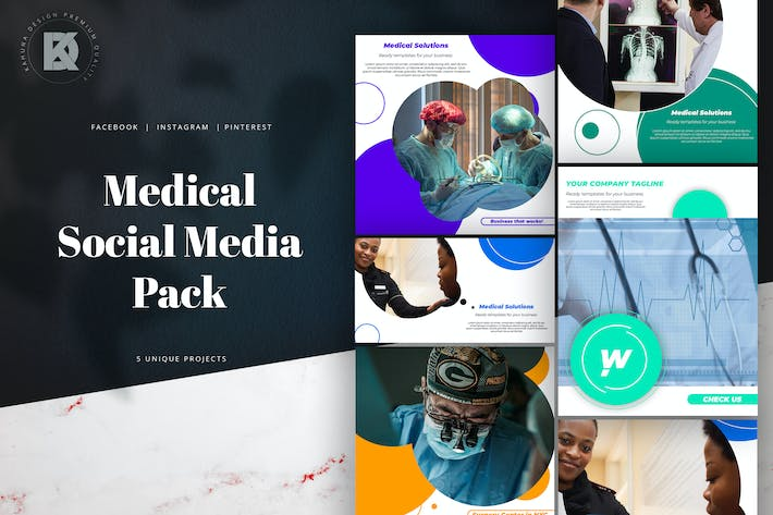Cover Image For Medical Social Media Pack