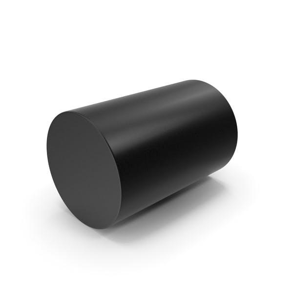 Цилиндр черный