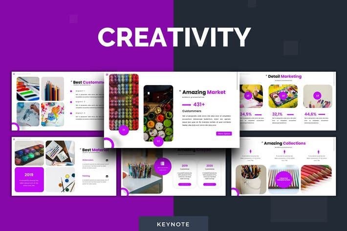 Thumbnail for Creativity - Keynote Template