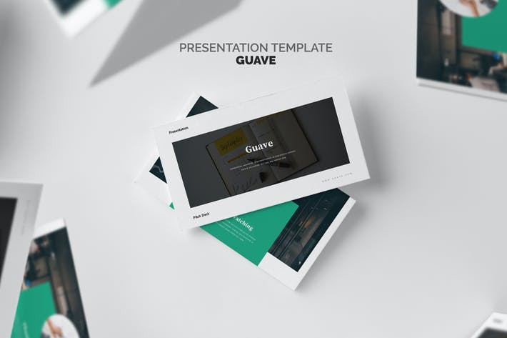 Thumbnail for Guave : Digital Company Pitch Deck Keynote