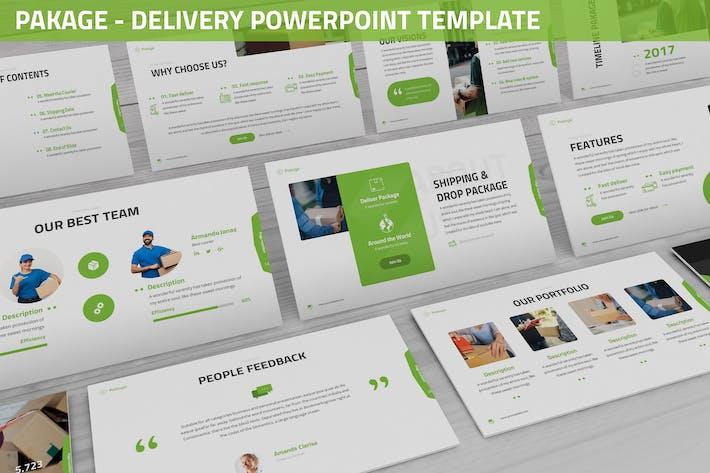 Thumbnail for Pakage - Powerpoint-Vorlage für die Lieferung