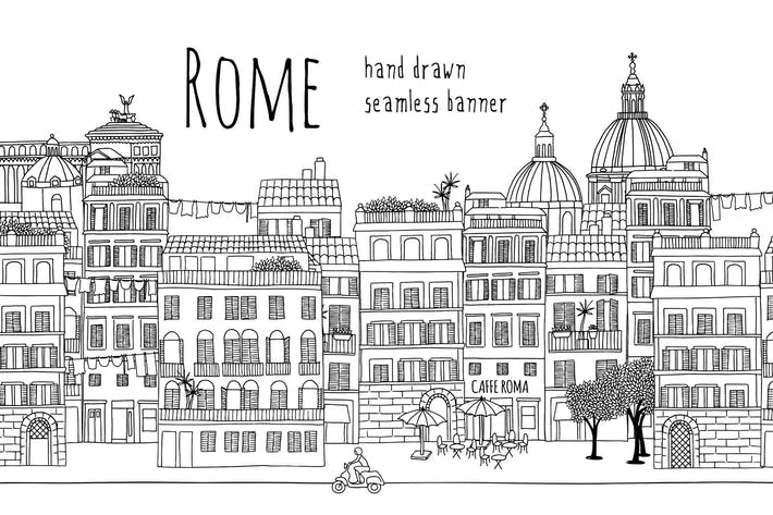 Thumbnail for Rome - Seamless Banner
