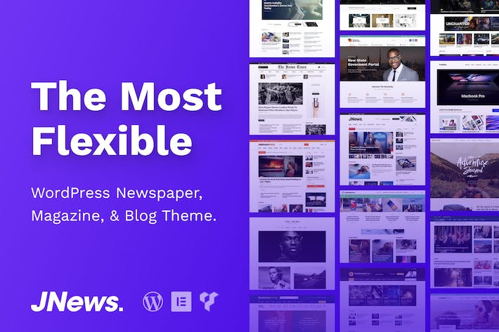 Thumbnail for JNews - WordPress Newspaper Magazine Blog Theme