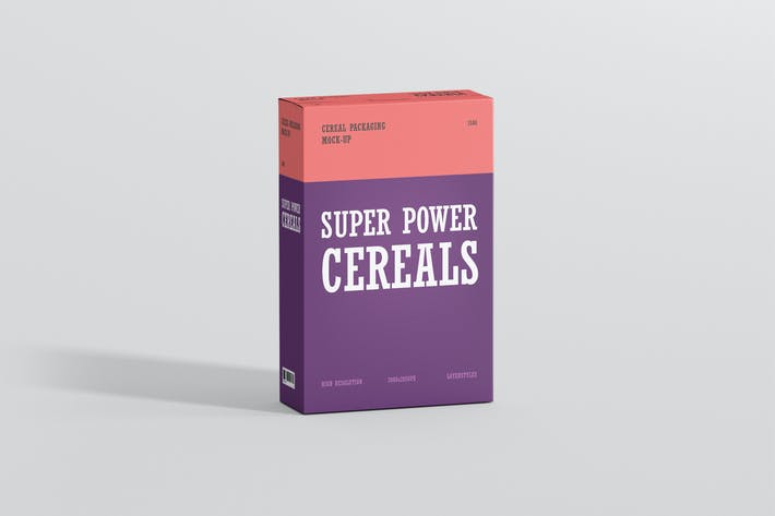 Thumbnail for Cereals Box Mockup