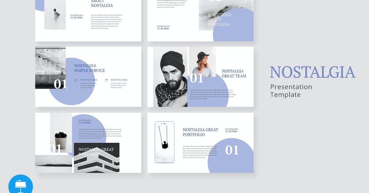 Download Nostalgia - Creative Keynote Template by alexacrib