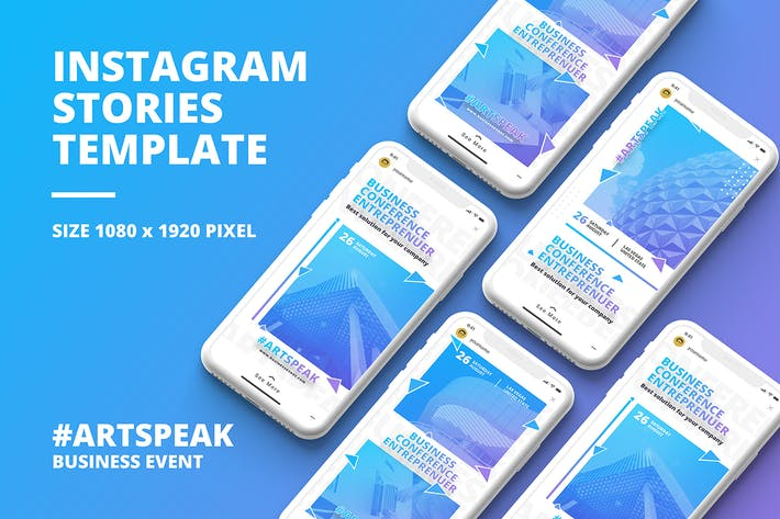 Thumbnail for Business Instagram Story Template