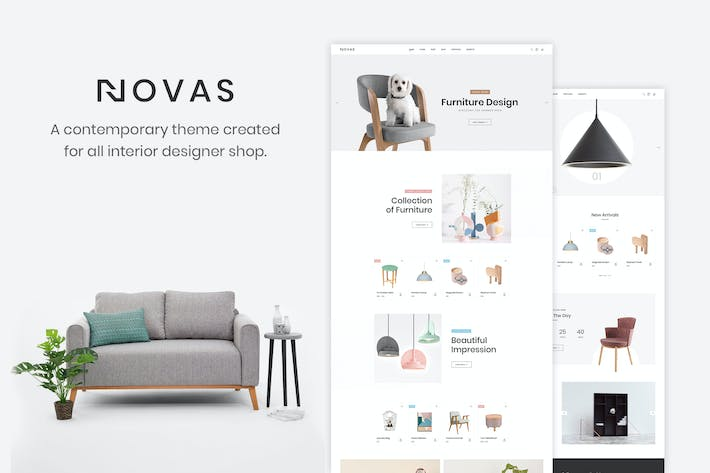 Thumbnail for Novas - Furniture Store and Handmade Shop