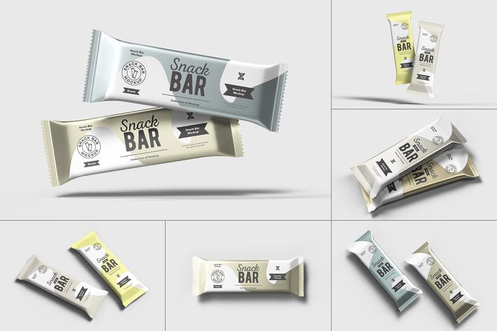 Thumbnail for Snack Bar Mock-up