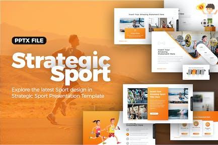 Strategic Sport Presentation Template