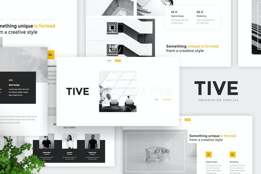 Tive - Creative Presentation