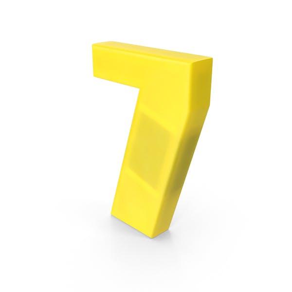 Cover Image for Number 7 Fridge Magnet