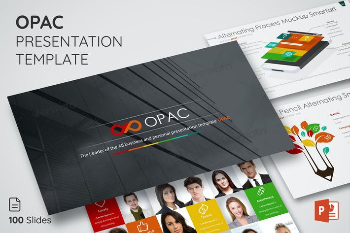 Thumbnail for Opac - Powerpoint Presentation Templates