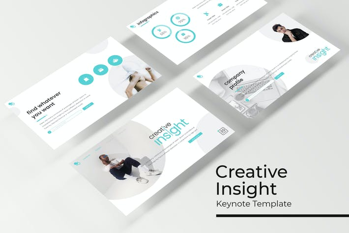 Cover Image For Creative Insight - Keynote Template
