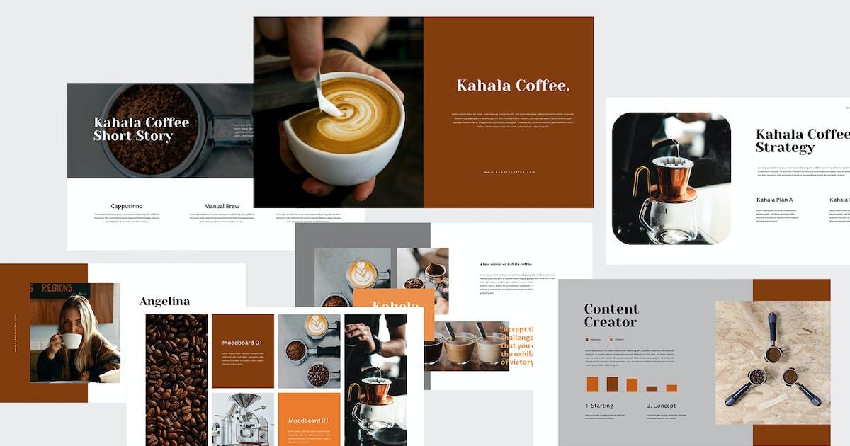 Download Kahala - Coffee Keynote Template by eunavia