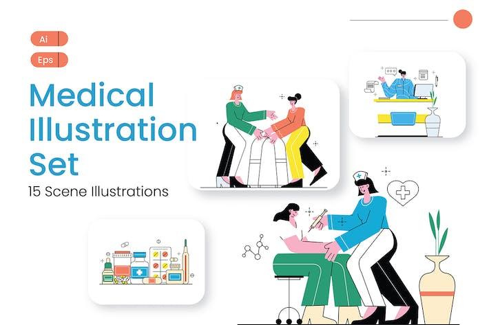 Thumbnail for Medical Graphics Illustration