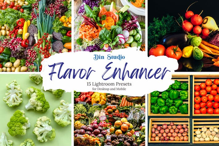Thumbnail for Flavor Enchancer Ajustes preestablecidos de Lightroom
