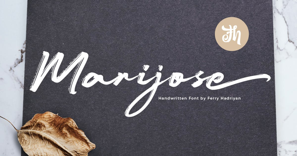 Download Marijose - Handwritten Font by Voltury