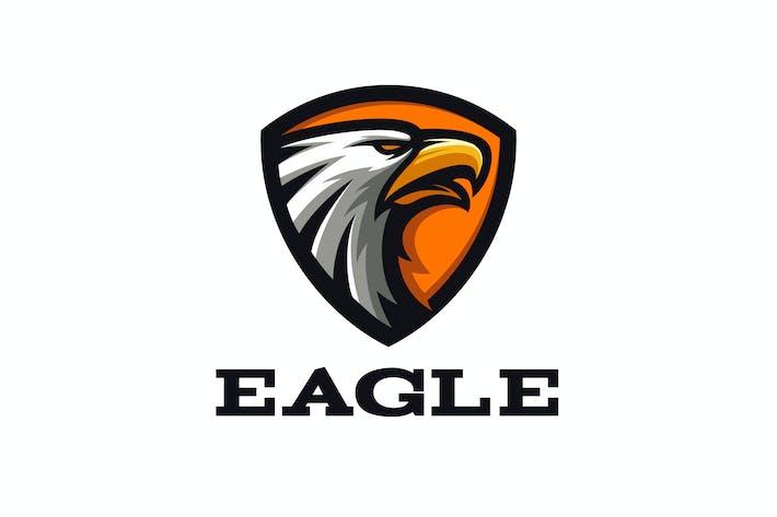 Thumbnail for Eagle Shield Emblem Mascot Logo