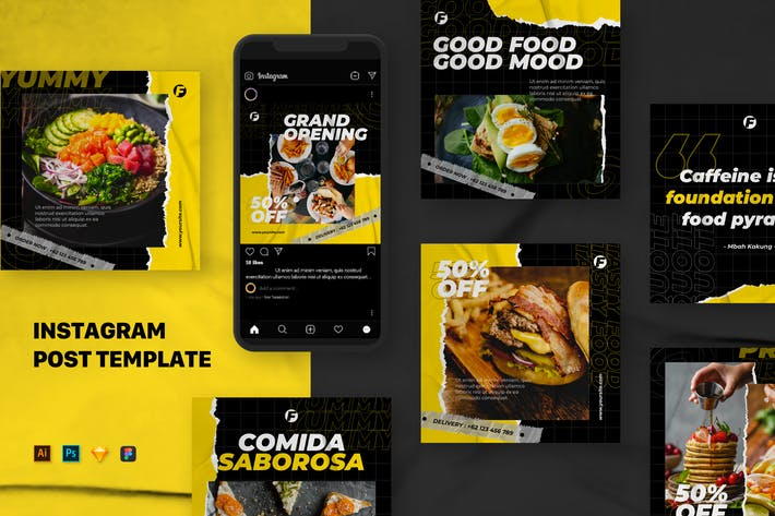 Thumbnail for Food Social Media