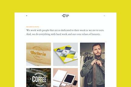 Cvbuilder - Creative Portfolio HTML5 Template
