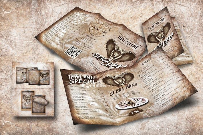 Thumbnail for Spicy Cobra Thai Food Menu Bundle