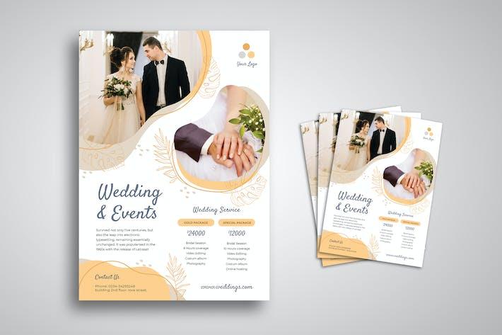 Thumbnail for Wedding Flyer