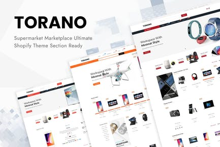 Torano - Supermarket Marketplace Ultimate Shopify