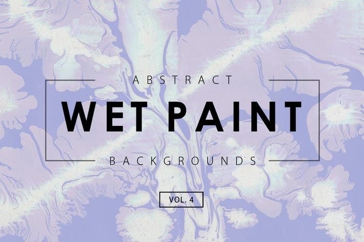 Thumbnail for Wet Paint Backgrounds Vol. 4