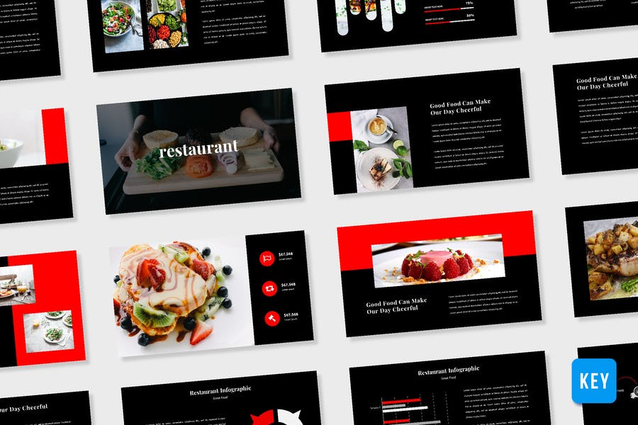 Restaurant Presentation Template - (KEY)
