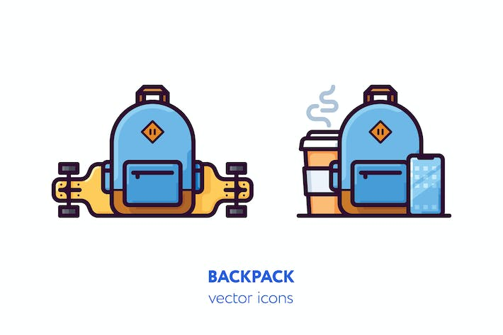 Thumbnail for Backpack icons