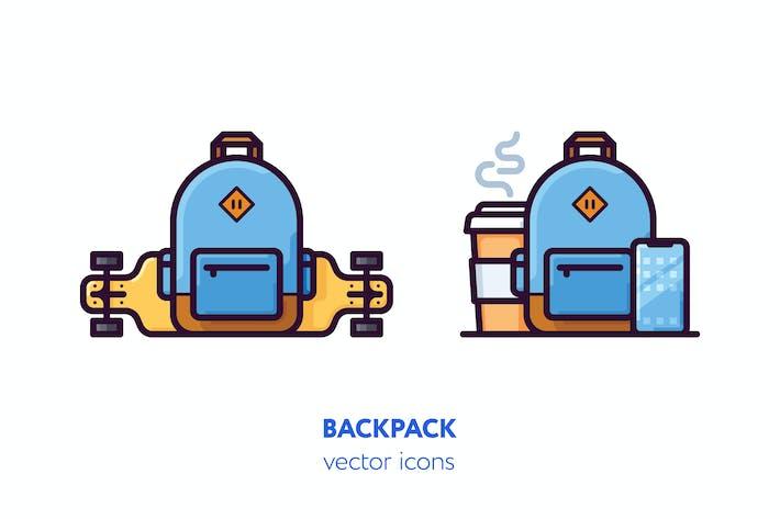 Thumbnail for Icones du sac à dos