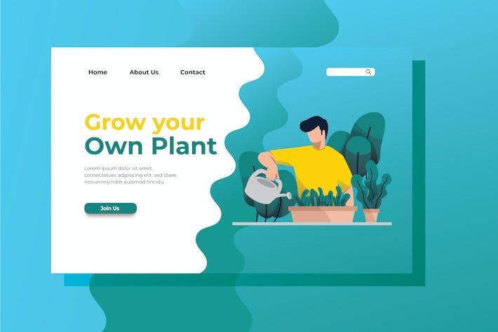 Thumbnail for Illustration de la page de destination Cultiver votre propre usine