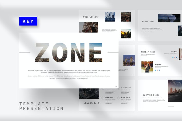 Thumbnail for Зона - Шаблон Keynote здания