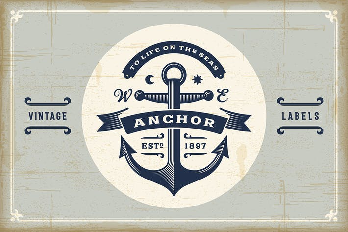 Thumbnail for Vintage Nautical Labels