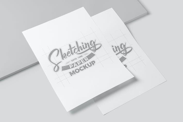 Thumbnail for Maquettes de papier à dessin