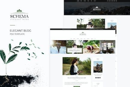 Schema : Elegant Blog Template