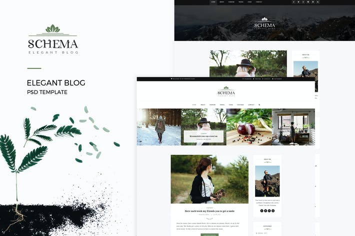 Thumbnail for Schema : Elegant Blog Template