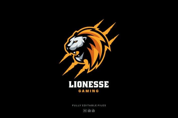 Lion Head Sports and E-sports Logo