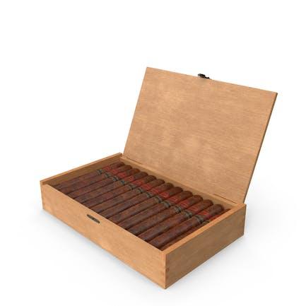 Kubanische Zigarrenbox ohne Etiketten