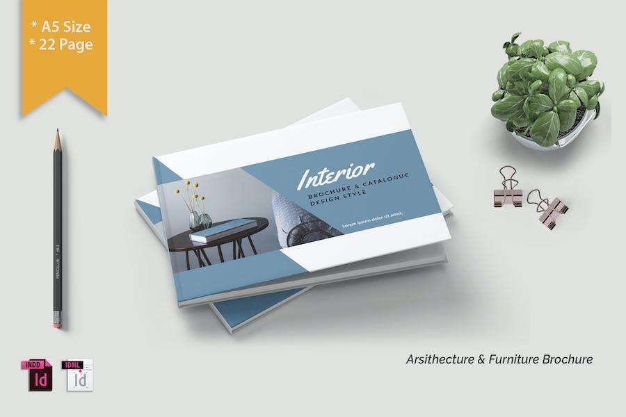 A5 INTEERIOR - Brochure Print Template