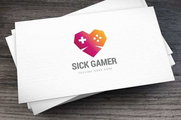 Thumbnail for Sick Gamer Logo Template