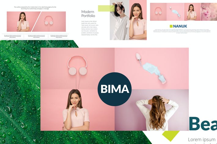 Cover Image For BIMA Google Slides