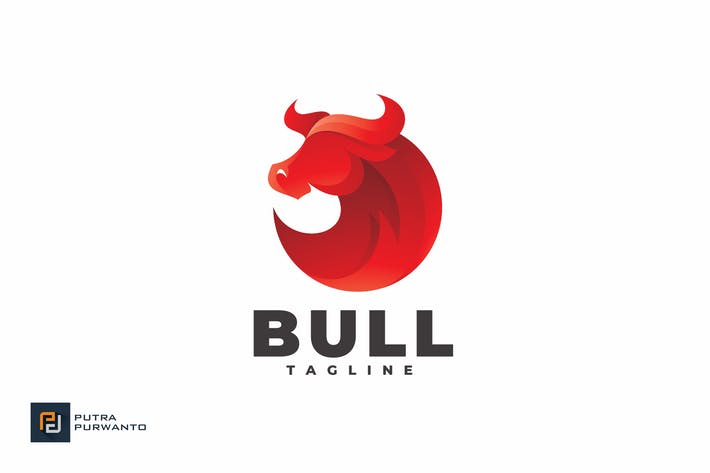 Thumbnail for Bull - Logo Template