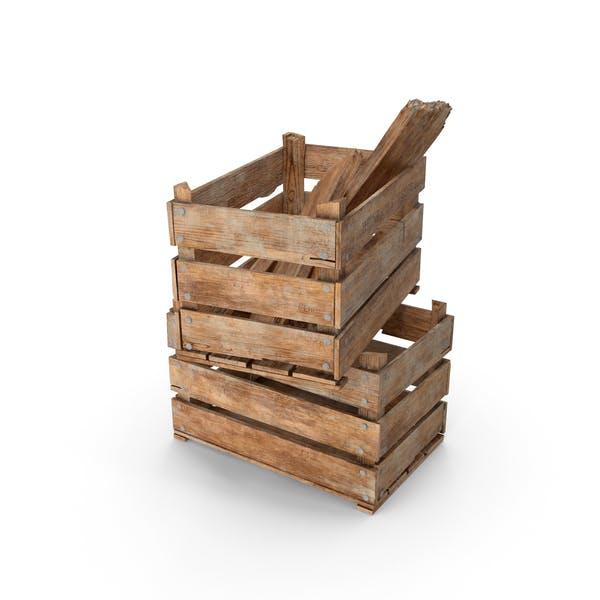 Thumbnail for Винтажные деревянные ящики